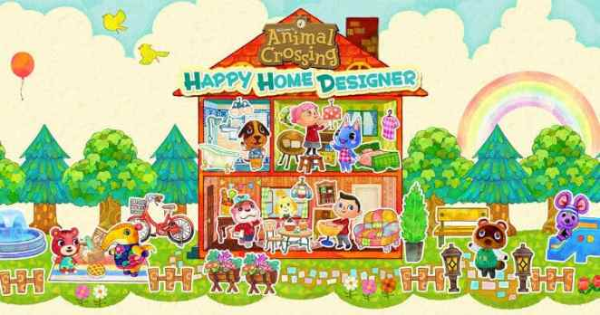Animal Crossing Happy Home Designer Main Image