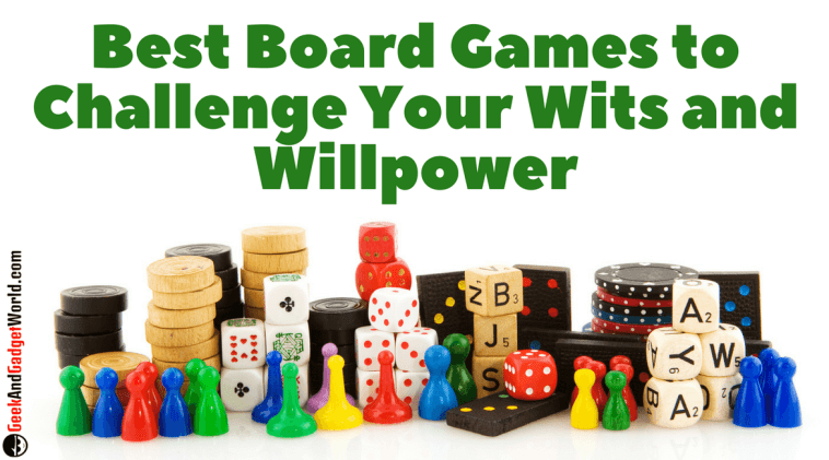 Best Board Games To Challenge Your Wits And Willpower