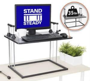 The UpTrak Metro Pro SitStand Standing Desk
