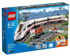 LEGO City Trains High Speed Passenger Train 60051 Building Toy