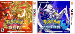 Pokemon Sun And Moon Covers