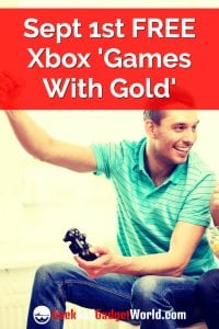 Sept 1st Free Xbox Games With Gold Pinterest