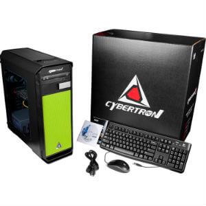 CybertronPC Rhodium GTX Gaming Desktop 1