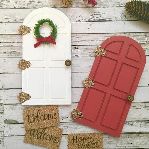 Christmas Elf Door