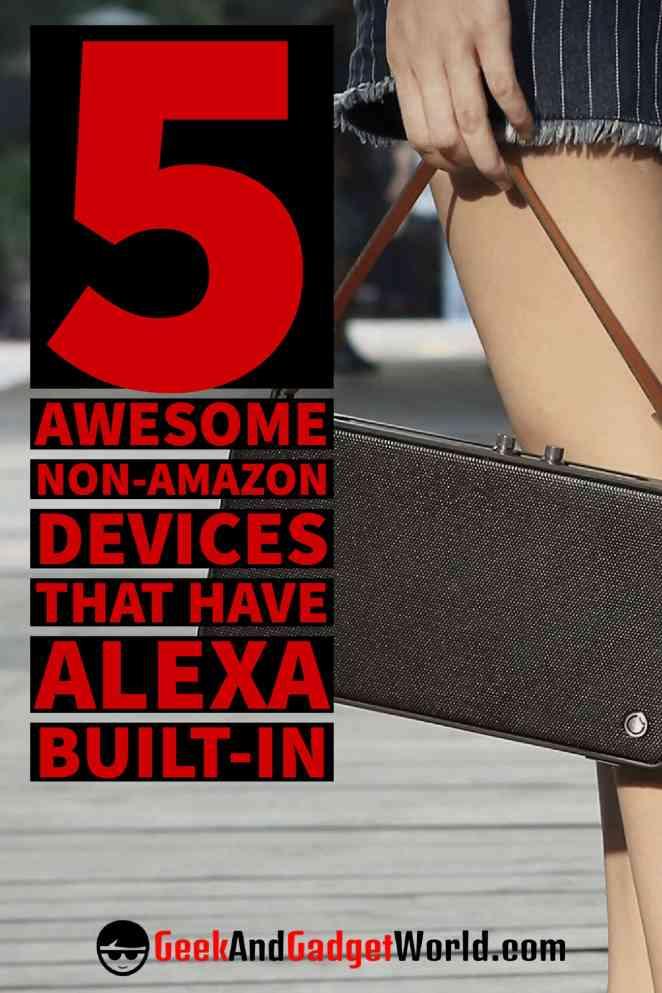 Non Amazon Alexa Devices Pinterest