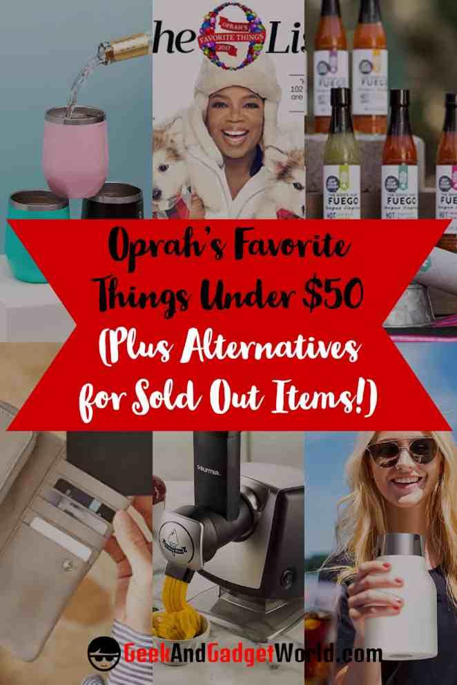 Oprahs Favorite Things Under 50 Pinterest