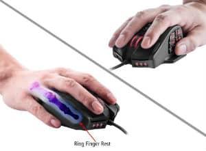 UtechSmart Venus 16400 DPI High Precision Laser MMO Gaming Mouse 2