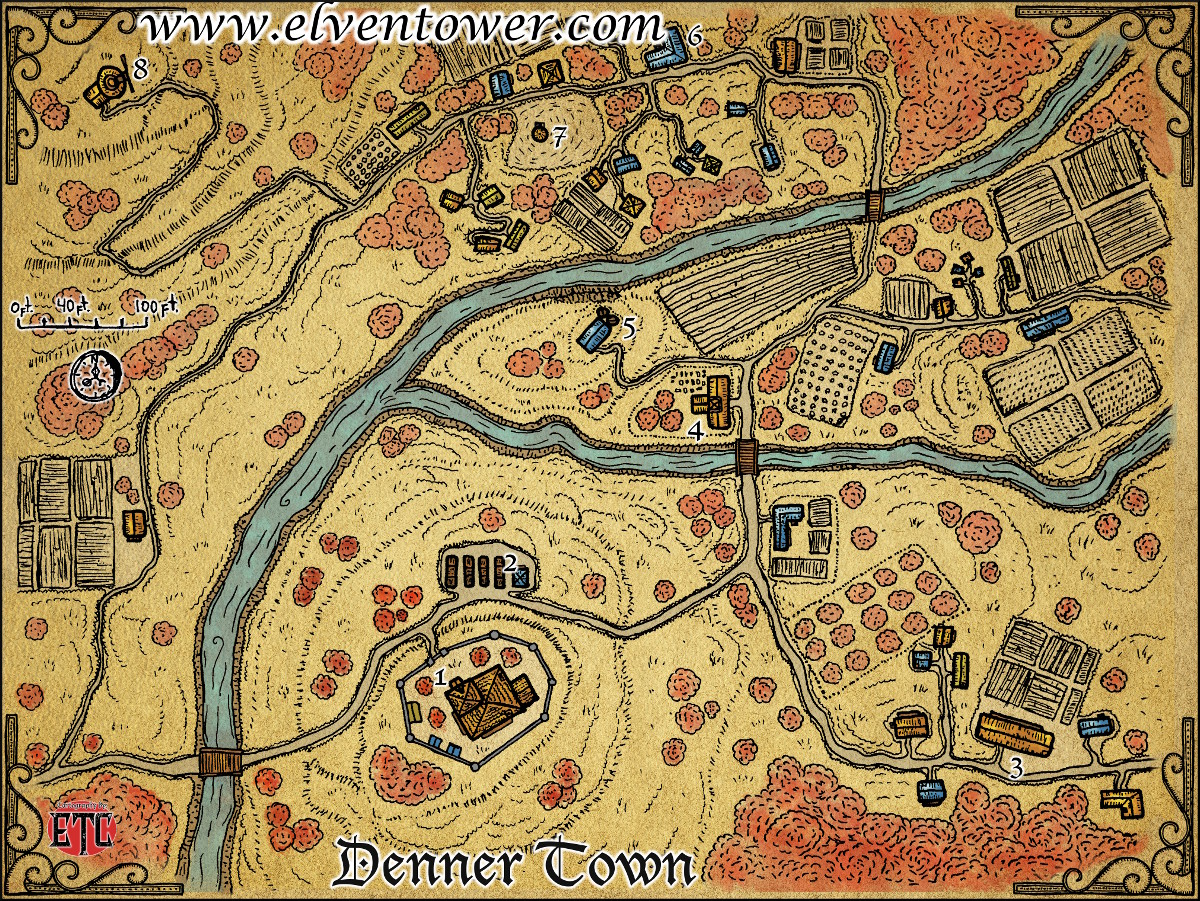 These Cartographers Are Making Awesome Fantasy RPG Maps For Your     Click on the Map Vault link to see the list of all the maps available   Elven Tower maps come in a balance of those with grids and those without
