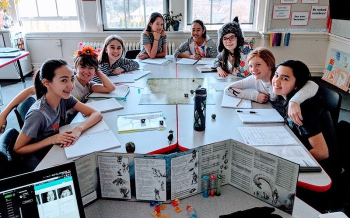 This Girls Middle School D&D Club Is a Font of Inspiration | Geek and Sundry