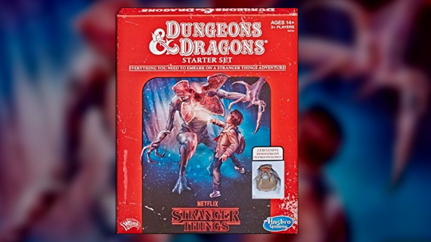Past Meets Present With the STRANGER THINGS D&D STARTER SET
