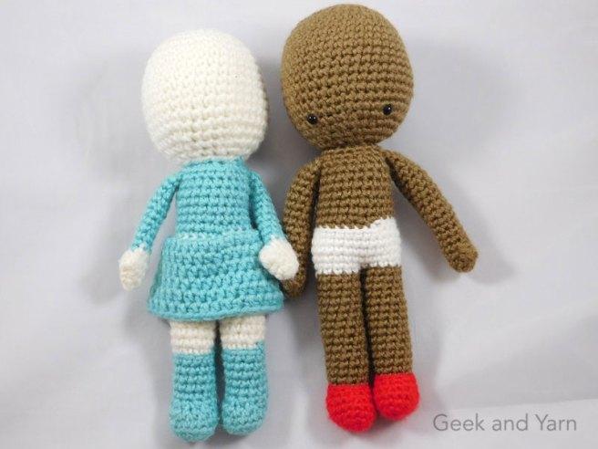 Grace and Yarn - If you enjoy amigurumi dolls, Jade with...   Facebook   492x656