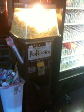 Popcorn dispencer