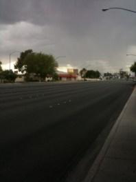 Storm clouds over Vegas