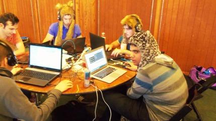 TechCrunch Disrupt SF 2012 Hackathon