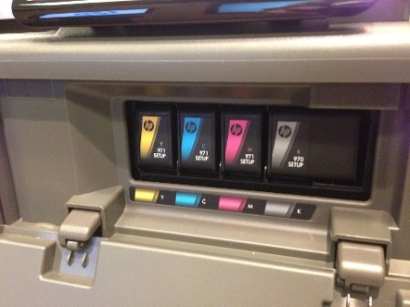 color ink cartridges of the x576dw