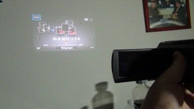 Sony Handycam Projection