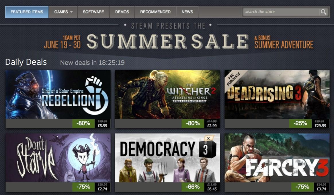 Steam 2014 Summer Sale