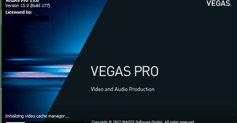 Magix Vegas Pro 15