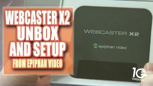 Epiphan Webcaster x2 Unbox and Configure – How I'm Going to Use it