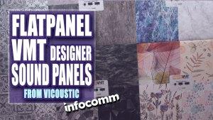ViCoustic Designer FlatPanel VMT for Acoustic Sound Control
