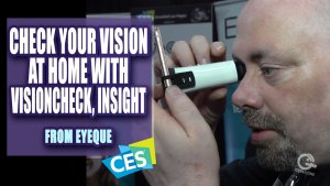 Geekazine Review - I Got My EyeQue Eye Exam at CES 2019 with