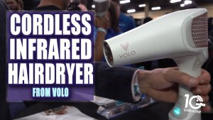 Volo Go is First Cordless Hair Dryer Using Infrared Heat