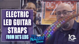 DC's LEDs Electric Guitar Straps Bring Life to Your Instrument