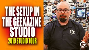 The Setup (and Gear) in the Geekazine Studio 2019