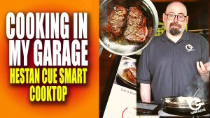 Cooking in My Garage with the Hestan Cue Smart Cooktop