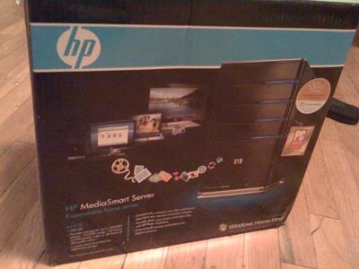Boite du HP MediaSmart Server EX470
