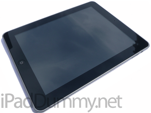 Le iPad Dummy de face