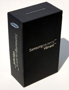 Samsung, Galaxy S, Vibrant, Box, Canon, XSi