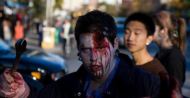 Enfants japonais VS un Zombie