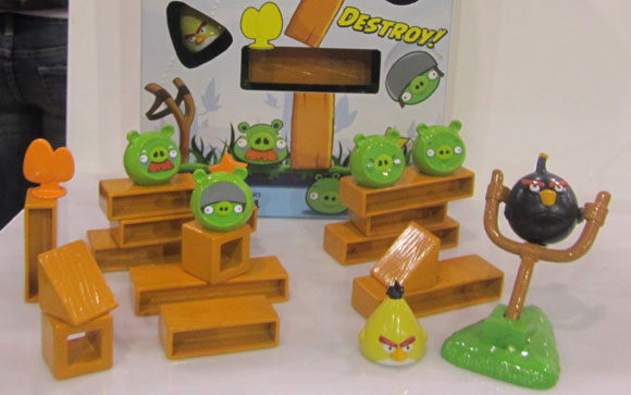 « À Quand le dessin animé Angry Birds »