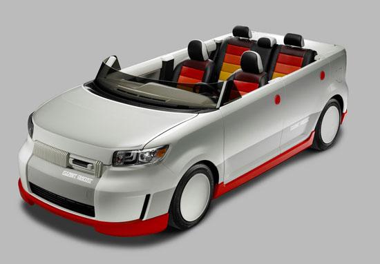 Toyota XB Famicom - Une Toyota inspirée du Famicom