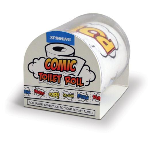 Du papier de toilette style Comic Book