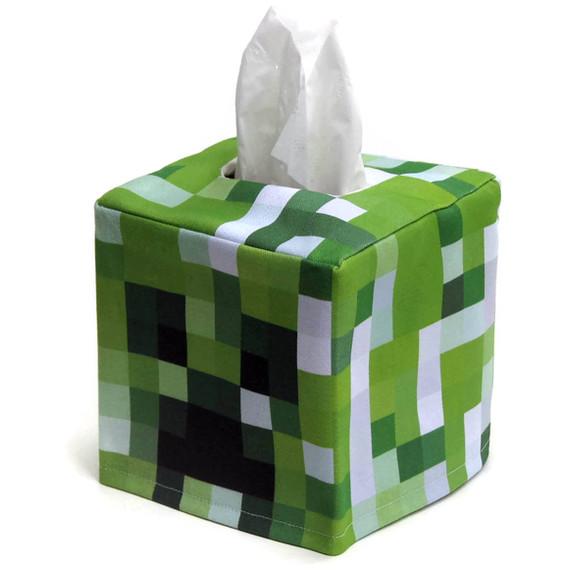 Des boîtes à Kleenex Minecraft