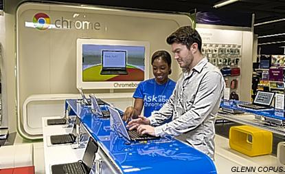 ChromeZone | Google a maintenant sa première boutique!