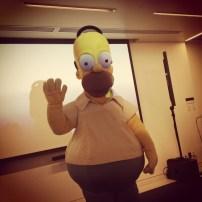 Homer était au 500e épisode des Simpsons