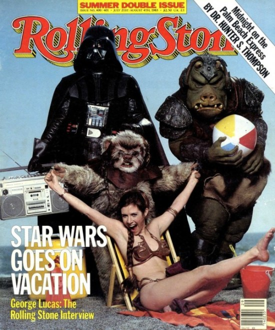 Star Wars Goes on Vacation