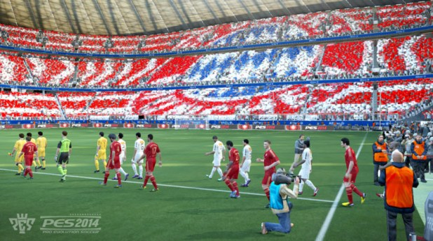 Pro Evolution Soccer 2014   E3 2013 Konami
