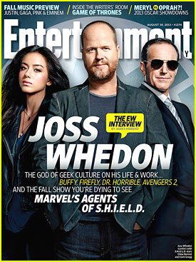 Joss Whedon - Entertainment Weekly cover