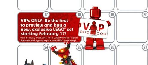 LEGO VIP event