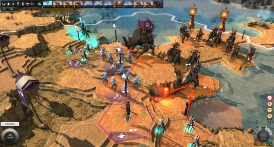 Ardent Mages vs Roving Clans_Battle Screenshot