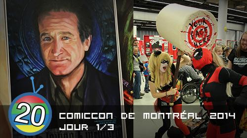 Comiccon de Montréal 2014