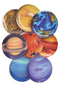 assiette planète
