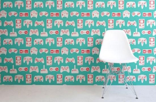 Du papier peint gamer pour votre maison!