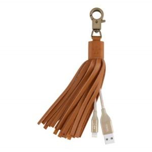 Câble lightning Belkin - Houppe en cuir MIXIT