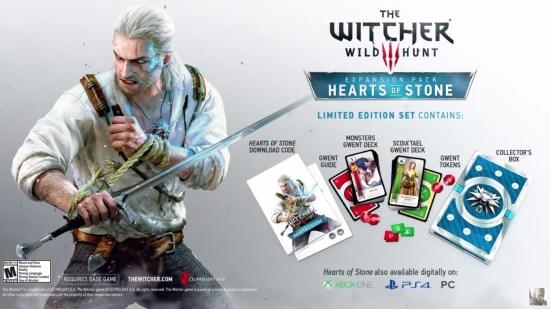 Witcher 3 Hearts of Stone Édition Limitée