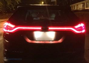 Signature de feux arrière - Ford Edge 2015